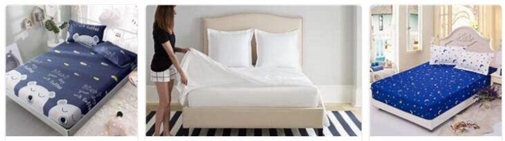 Care of bed sheets and fitted bed sheets